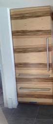 horizontal grain hickory veneer